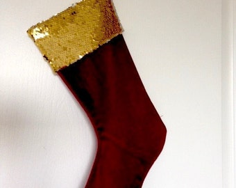 Sequin stocking | Etsy