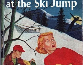 Nancy Drew = The Mystery at the Ski Jump c. 1952 w/dust jacket