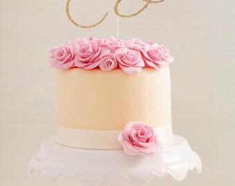 Twenty Birthday Cake Topper  l  Twenty Cake Topper  l  Twentieth Birthday Topper  l  Twentieth Wedding Anniversary  l  Twenty Anniversary
