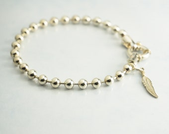 Customized Silver Bracelet, Personalized Sterling Silver Bracelet, Custom Bracelet, Personalized Mom Bracelet, Custom Mom Bracelet