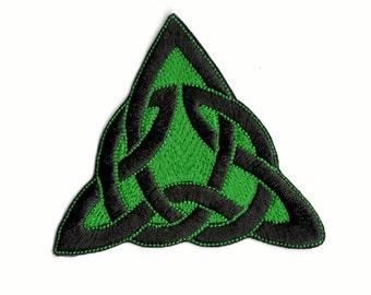 Celtic knot iron  on patch