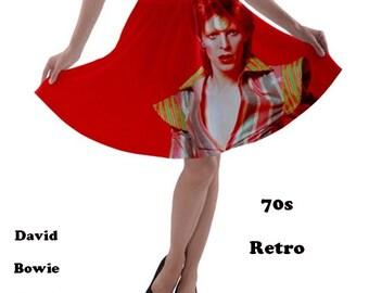 David Bowie Skirt, skirt, 70s, david bowie, glam rock, music, 80s music, 70s music, rock, fashion