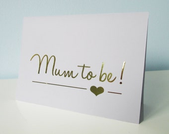 Mum to be - Pregnancy Congratulations - Baby & Expecting Card