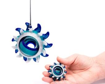Glittery: Anemonia Fidget - Sea Anemone Inspired Sensory Gyro Fidget Toy For Enhanced Focus