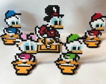 Ducktales Perler Beads Sprites - Nintendo Video Game Inspired