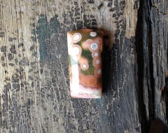 Ocean Jasper Cabochon - Small - Orbicular - Rectangular - Green and Pink