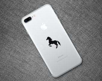 Horse Decal, Horse Sticker for iPad iPhone MacBook Or Walls and Cars