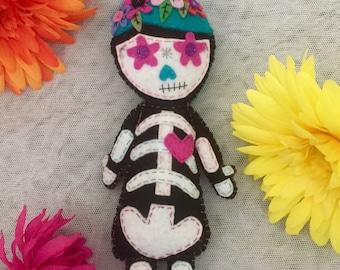 Gloria Sugar Skull Doll