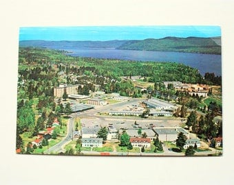 Town of Deep River Postcard 1970 / Deep River, Ontario