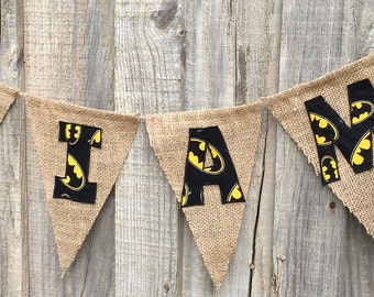 Batman birthday, Batman party, Batman name banner, Batman photo prop, batman invites, batman backdrop, batman bedroom, batman theme, batman