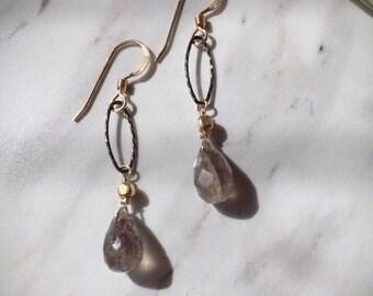 14 kgf Ocean Labradorite earring