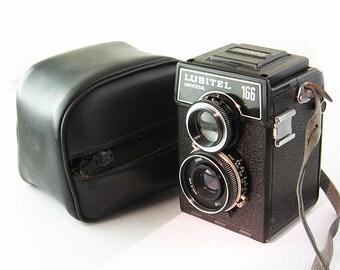 LUBITEL 166U Universal Russian Medium Format 6x6 Rollei Copy TLR Camera