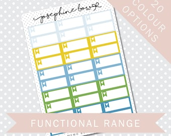MEMO BOXES - Functional Stickers - Planner Stickers Matt