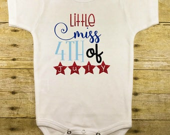 July 4th Baby Outfit - Kids July 4th Outfit - 4th of July Baby - 1st 4th of July - Patriotic Outfit - Red White and Blue - Independence Day