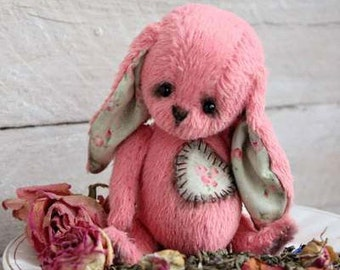 Teddy Bear PATTERN -  Rose Tea  Artist PDF  Pattern
