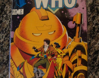 Doctor Who Issue 7 Marvel comics