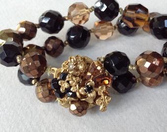 Eugene Signed Rare Elegant Beaded Bracelet