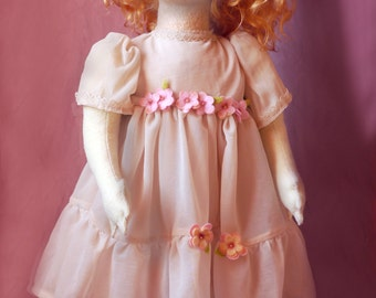 Made to order /beautiful baby-dolls inspired by Italian felt Doll vintage Lenci