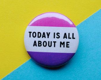 Funny Birthday Badge || Birthday Badge || Funny Birthday Pin || Birthday Pin ||  || Girl Gang Pin
