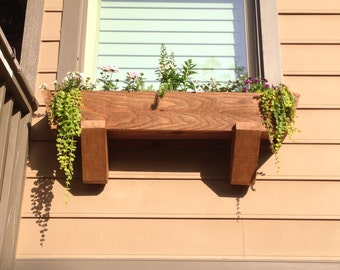 Custom Cedar Window Box