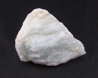 Aquamarine Rough Crystal From Brazil - Large - Courage, Peace, Tolerance, Relaxation, Metaphysical, Healing, Chakra, Aura - Crystal Cave