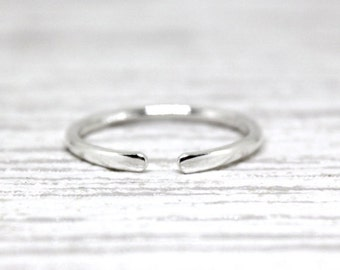 The Gap: Solid Sterling Silver Handmade Ring