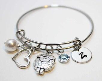 personalized little girl bracelet, little girl initial bracelet ,little girl bracelet, little girl jewelry, girl initial bracelet, girl