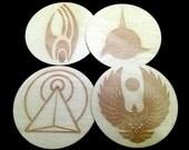 Star Trek Strange New Worlds Coasters - set of 4