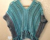 Poncho Crochet PATTERN - ...