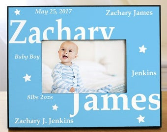 new baby boy printed frame baby frames new baby blue frame baby boy