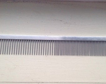Hair comb for beard stainless, vintage
