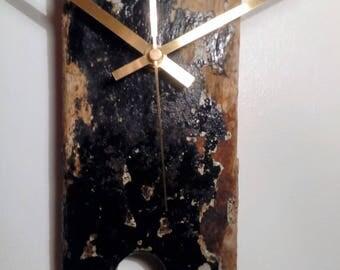 Unique Handmade Driftwood Wall Clock - Large