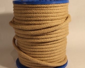 Natural Hemp Rope/12mm/30feet/Braied Hemp Rope/Home Decor/Garden/ Shibari/Kinbaku/Much More.
