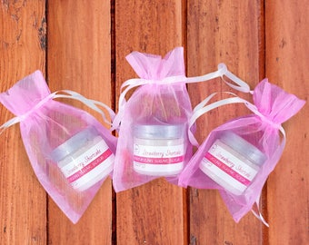 Whipped Sugar Scrub Party Favors - Baby Girl Shower Favors - New Baby Shower Favors  - Whipped Strawberry Sugar Scrub