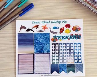 Ocean World Weekly Kit