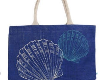 Coastal Beach Bag Tote