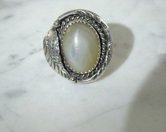 Native American Sterling Silver Ring (size 5.75)