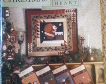 The Night Before Christmas designs by Nancy Halvorsen -  Art to Heart - Primitive Quilt Applique Pattern book - Stitchery