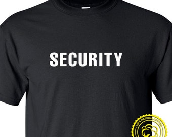 SECURITY T-Shirt -  tshirt, gift, tee, shirt, men, mens, boy