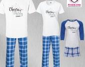 Birthday Pajamas Cheers t...