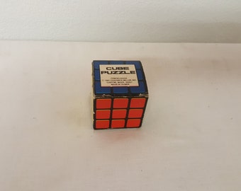 Vintage Rubix Cube Puzzle, New in box, collector Rubix Cube, Collector Puzzles, vintage Rubix, Collectible game, vintage game, Rubix
