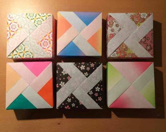 6 Origami Gift Boxes