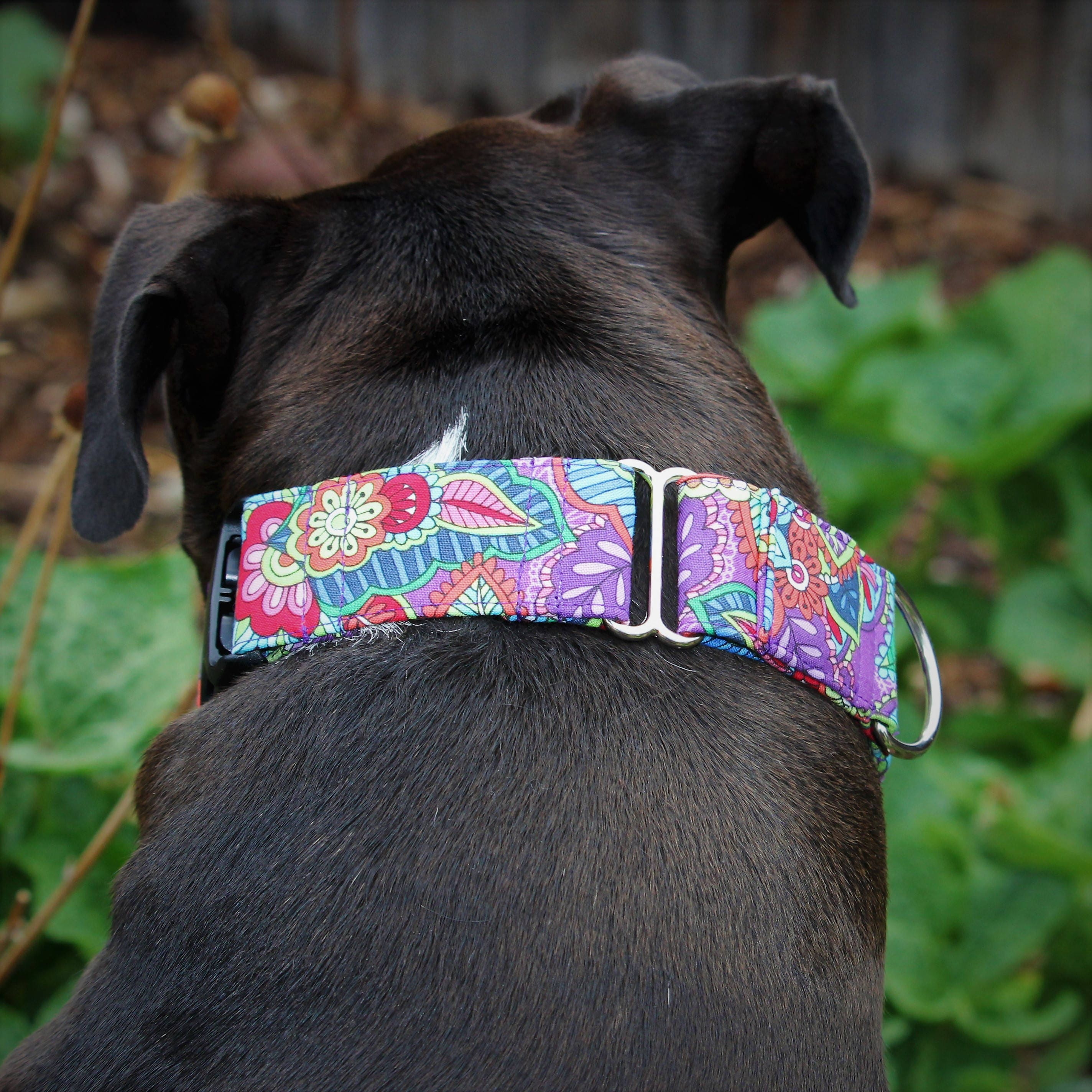 Dog crib for sale philippines - Purple Dog Collar Flower Dog Collar Thick Dog Collar Wide Martingale Dog Collar Thick Dog Collar Extra Large Dog Collar Girl Collar