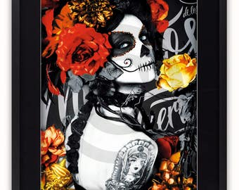 Dia de los Muertos - Gothic Poster