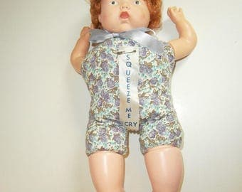 Lorrie Squeeze Doll 60's