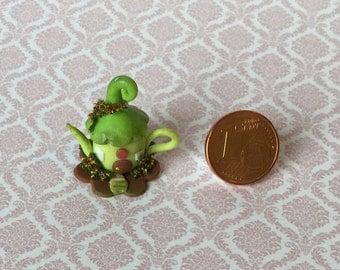 miniature goblin house Teapot