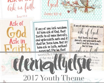 2017 Youth Theme Printables