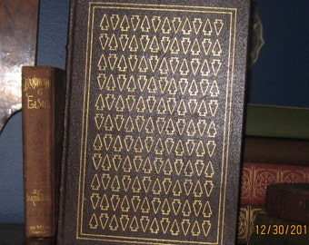 The 100 Greatest Books Ever Written Collectors Edition of The Last Of The Mohicans by James Fenimore Cooper, circa 1979