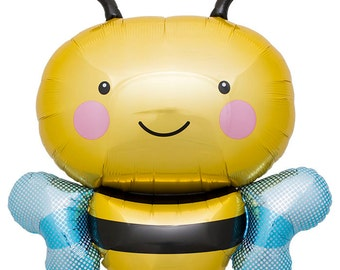 Bumble Bee Balloon | kids birthday | photo prop | beehive | Bee theme party decorations | bee birthday | baby shower  gender reveal baby bee