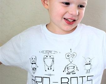 Robot Tshirt, Brother Tshirt, Robot Shirt